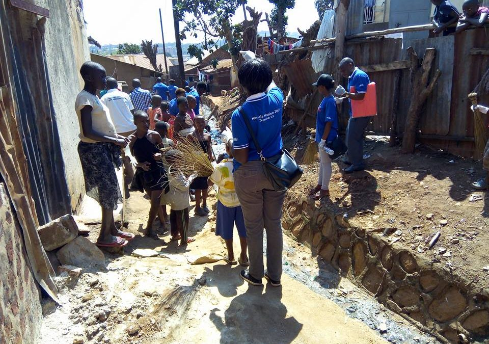 A mother struggling in the slums -Kampala Mission