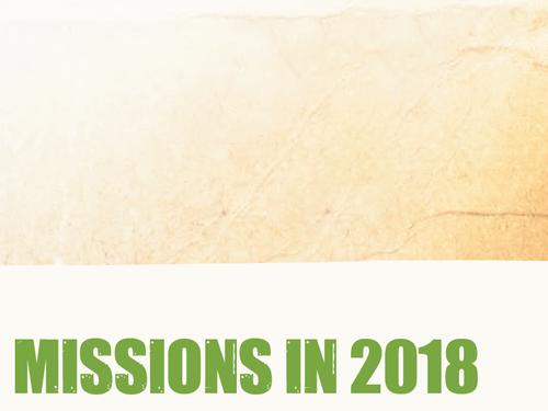 Mission Dates 2018